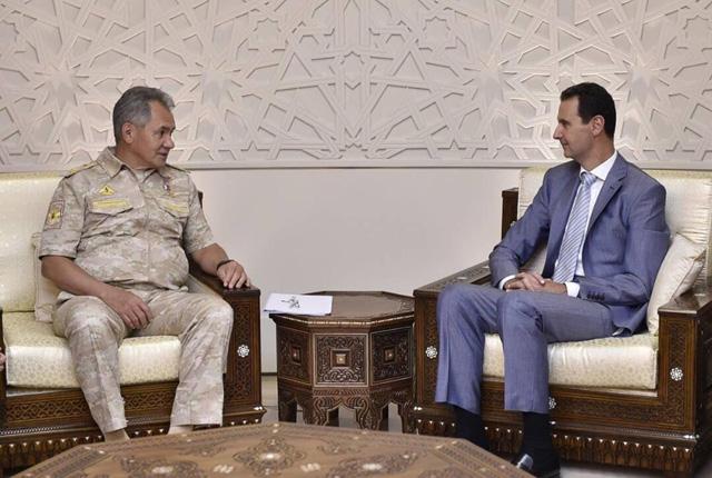 Пресс-служба президента Сирии⁄ТАСС