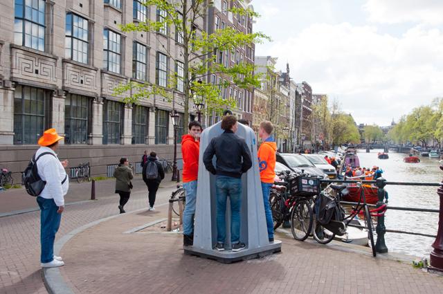 Экстравагантные туалеты Голландии