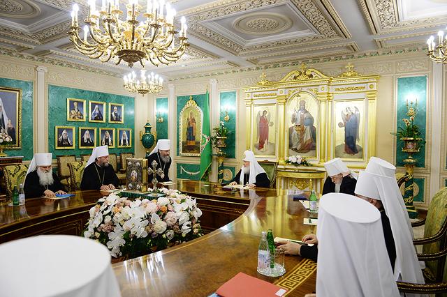 Фото: Пресс-служба Патриарха Московского и всея Руси/свящ. Игорь Палкин