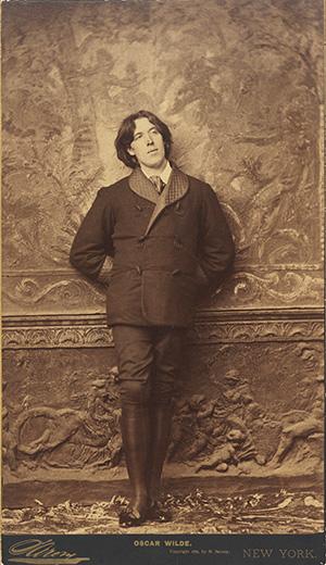 Наполеон Сарони. Оскар Уайльд. 1882. Альбуминовый отпечаток. Национальная портретная галерея, Лондон