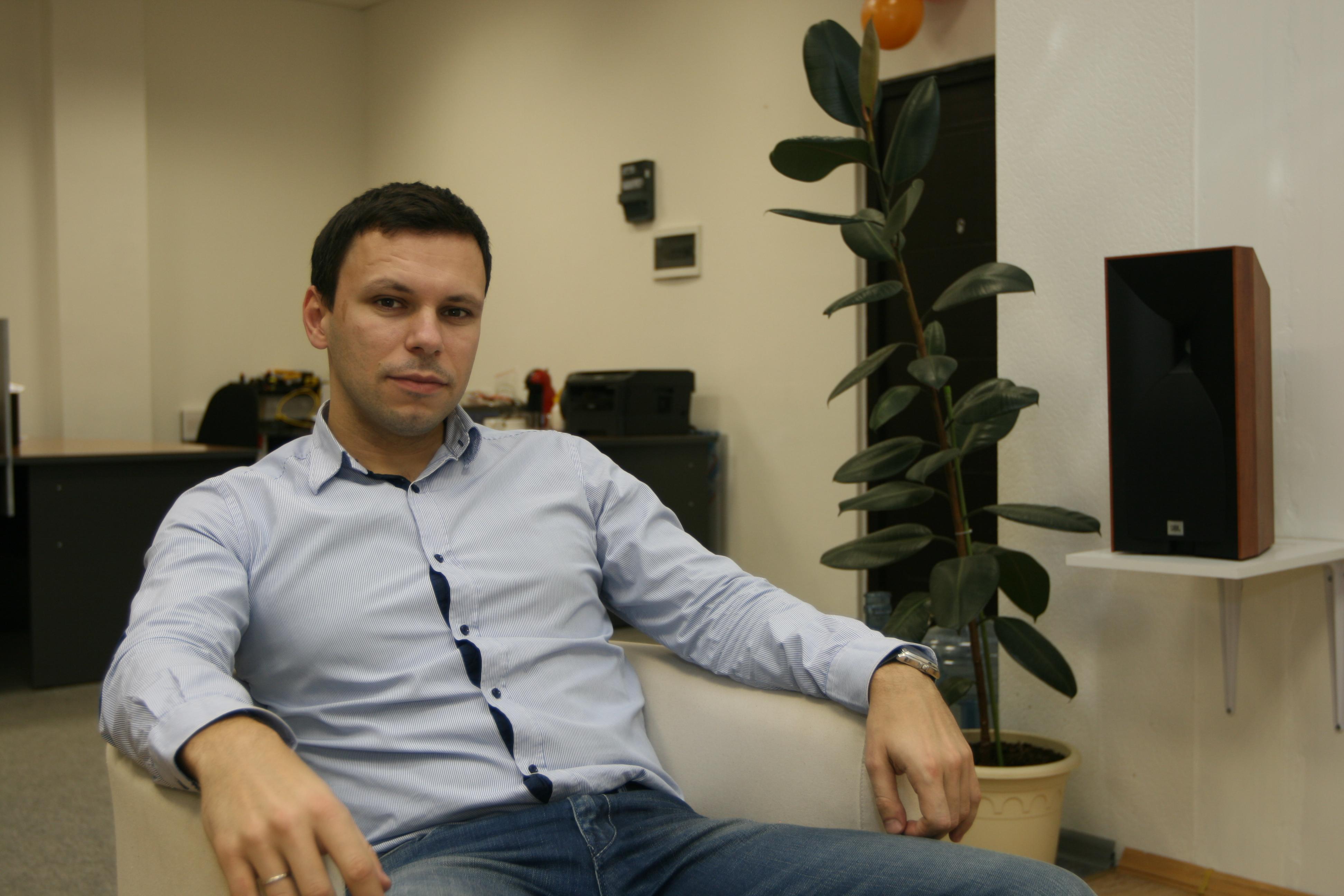 Сооснователь компании «Ай Пи Решения» Максим Голубев