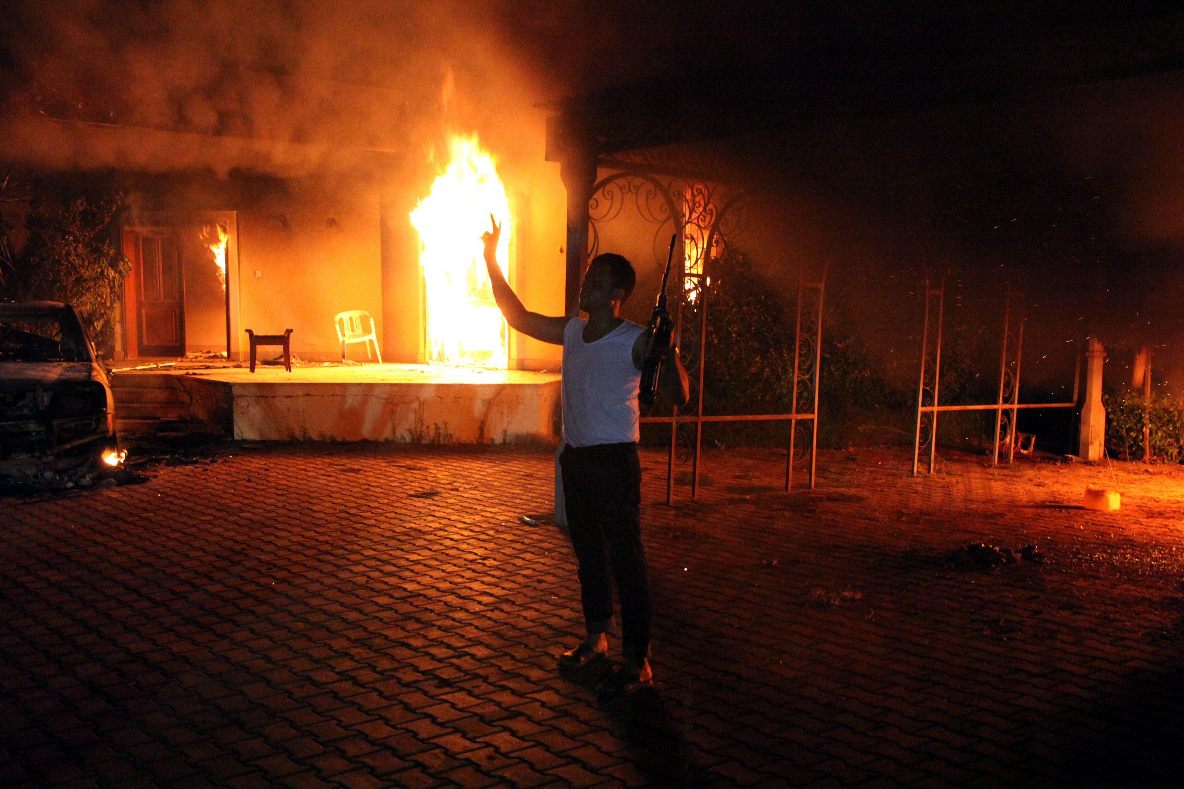 Нападение на американское посольство в Ливии было совершено после того, как в интернете появился трейлер фильма «Невинность мусульман»