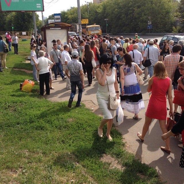 Фото очевидицы событий Юлии Григорьевой
