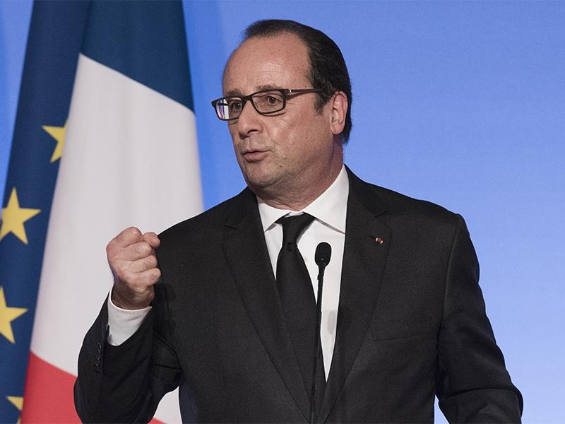 Олланд дал наставления дипломатам поповоду В. Путина