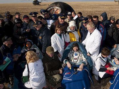 Последним космическим туристом был основатель Cirque du Soleil Ги Лалиберте, полетевший в 2009 году