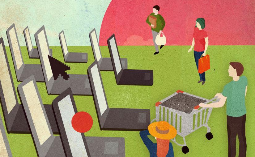 Российские онлайн-магазины догнали зарубежные по темпам роста