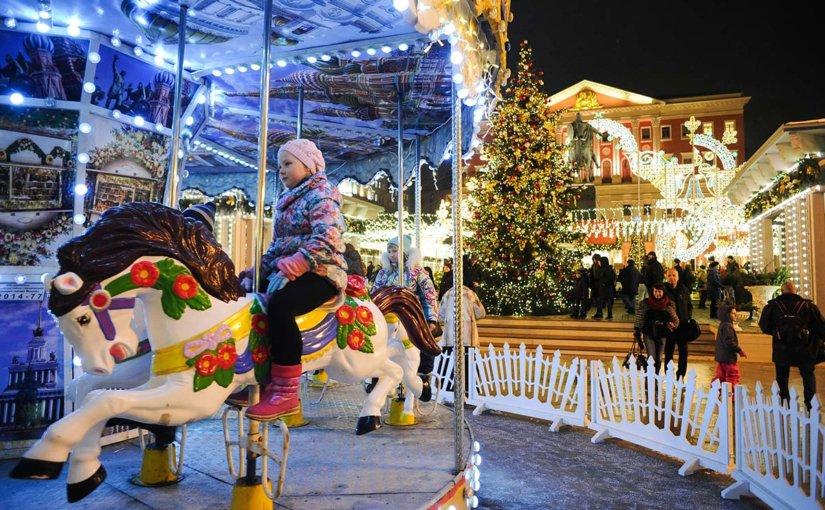 Куда сходить на новогодних праздниках в Москве