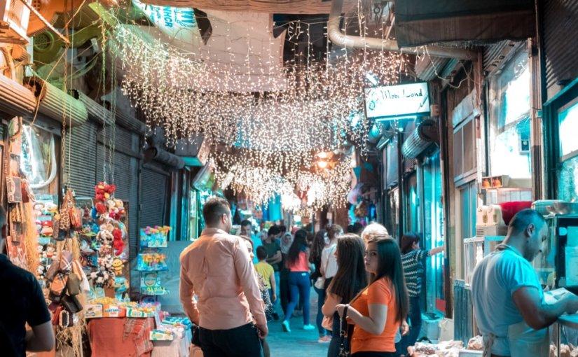 Дамаск снова засиял в ожидании новогодних праздников впервые за семь лет