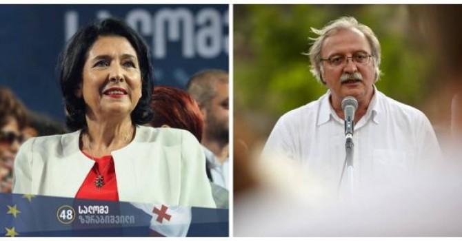 Саломе Зурабишвили побеждает на выборах в Грузии по данным экзит-поллов