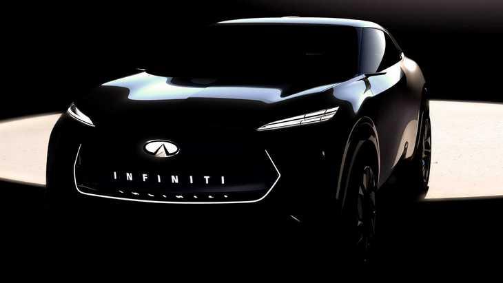Infiniti представит на автосалоне в Детройте прототип электрокроссовера
