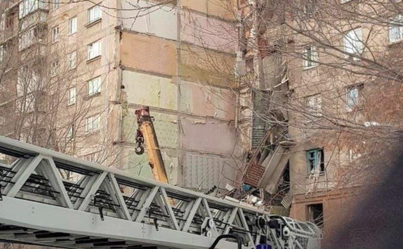 В результате взрыва газа в Магнитогорске в жилом доме погибло два человека