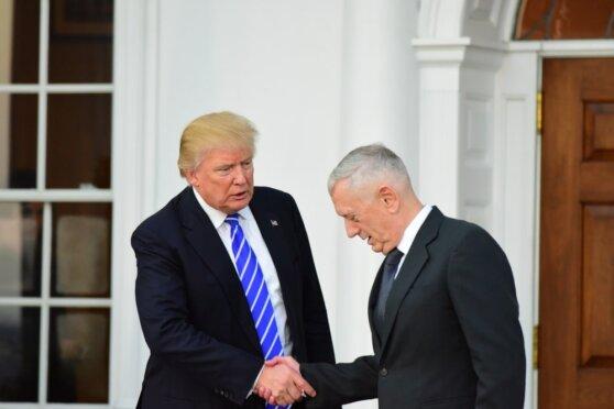 Трамп сообщил об отставке министра обороны Джеймса Мэттиса