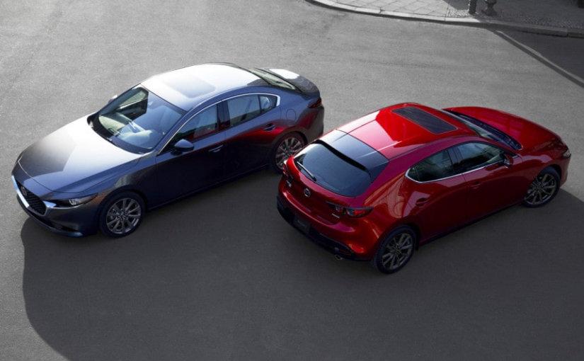 Первое знакомство: Mazda показала свою новую «тройку»
