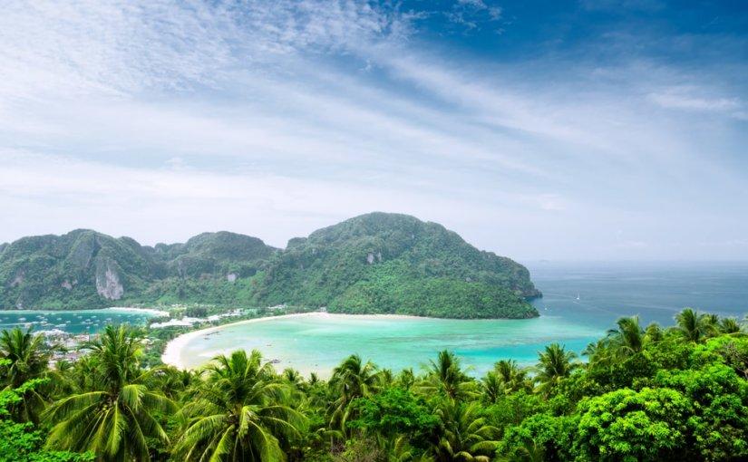 В водах знаменитого пляжа Maya Beach в Таиланде состоялось нашествие акул