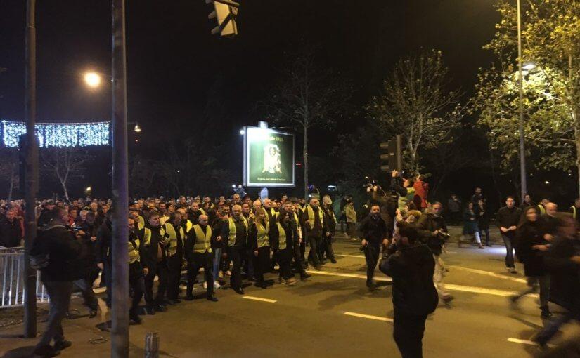 Теперь и в Черногории протестуют «желтые жилеты»
