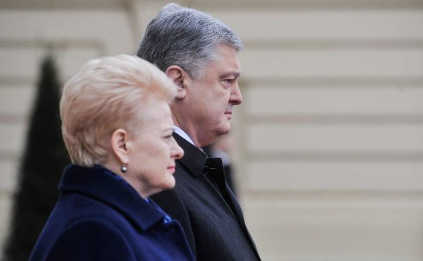 Сайт Порошенко объявил о санкциях Литвы против России