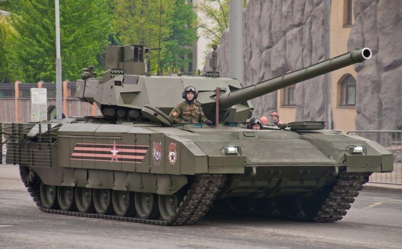 Государственные испытания танка Т-14 «Армата» начнутся в 2019 году