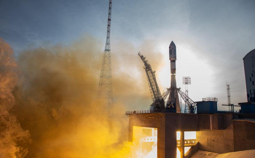 """Роскосмос отчитался об удачном пуске """"Союз-2.1а"""", который вывел на орбиту 28 спутников"""