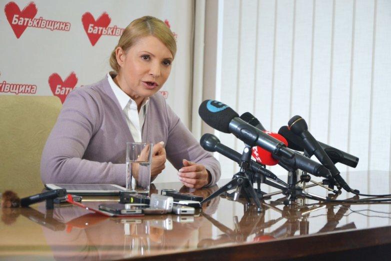 Тимошенко возглавила вУкраинском государстве президентский рейтинг