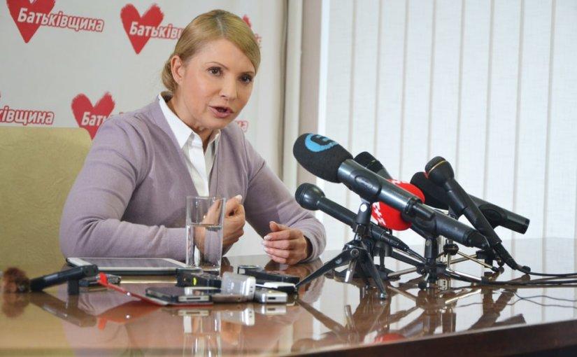 Юлия Тимошенко популярнее всех потенциальных соперников по президентской гонке