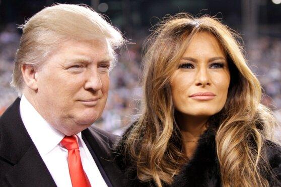Трамп и первая леди