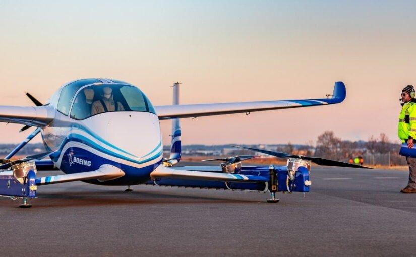 Boeing протестировал беспилотное воздушное такси для городских полетов