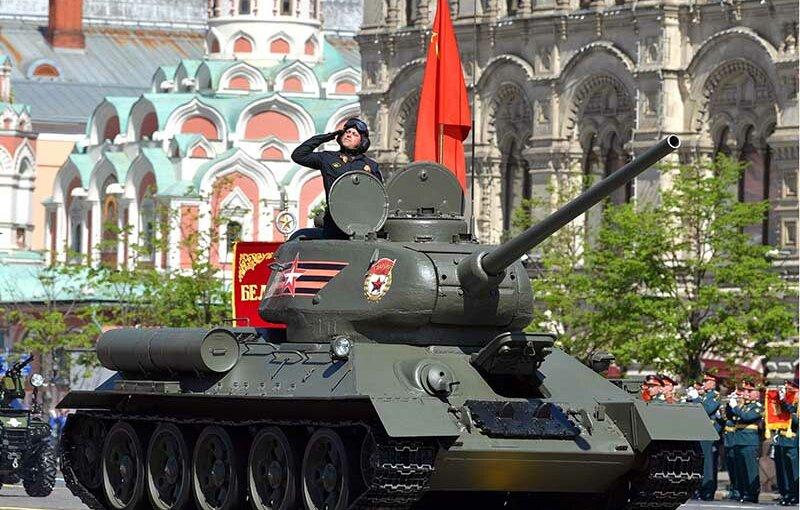 Репетиция парада Победы в Москве пройдет ночью 29 апреля