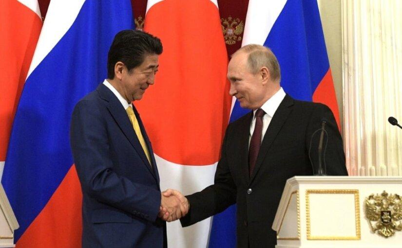Владимир Путин рассказал об итогах переговоров с Синдзо Абэ