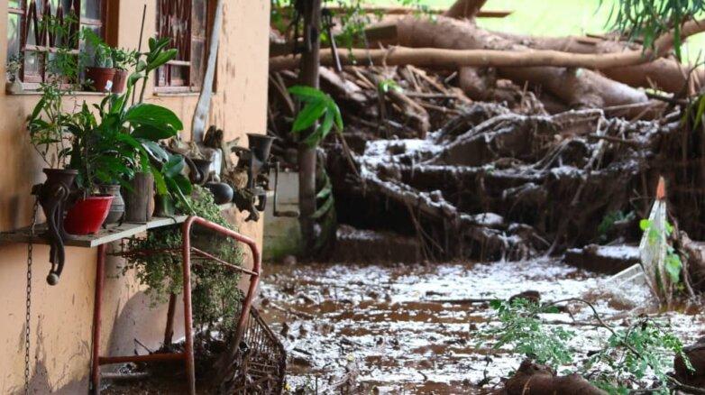 Последствия прорыва плотины в Бразилии