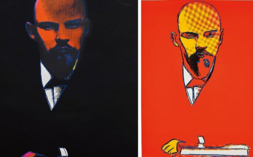Нарисованного Уорхолом Ленина продали за 150 тысяч долларов