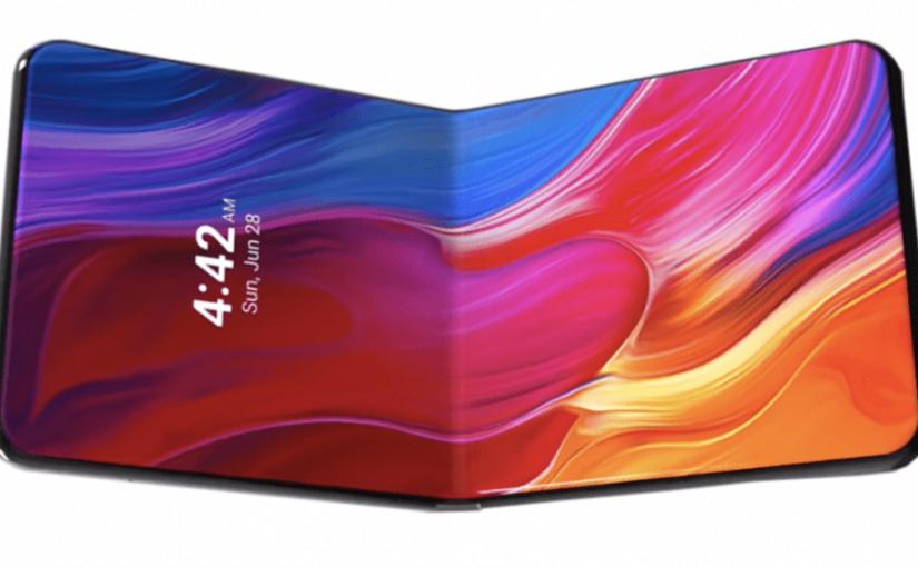 Xiaomi показала складной смартфон