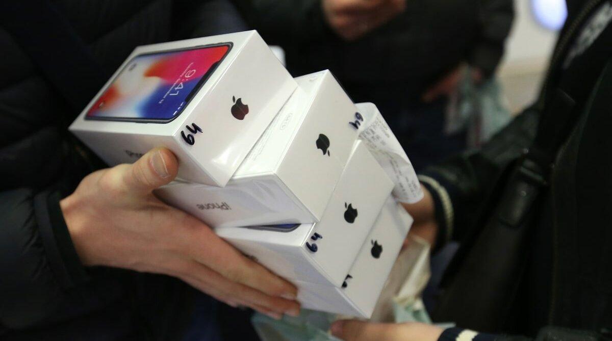Image result for Продажи iPhone рухнули на 17%