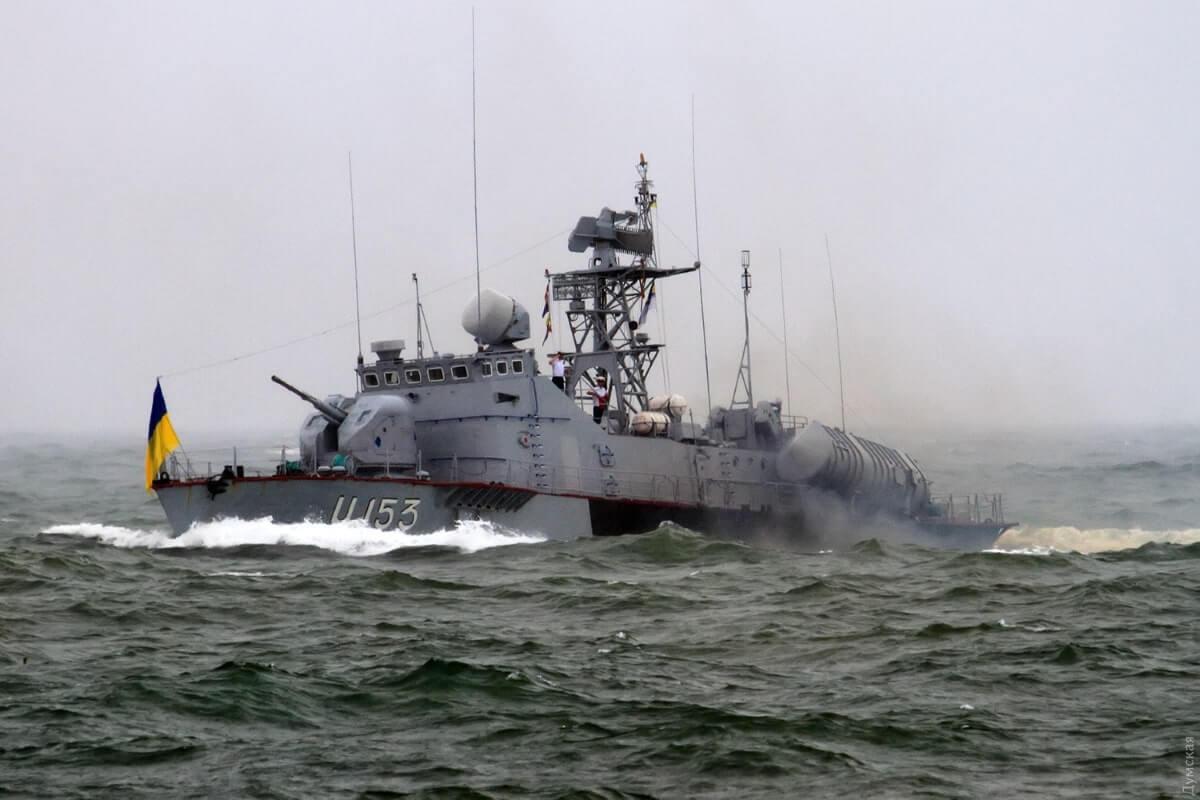 """ВМС Украины, катер """"Прилуки"""""""