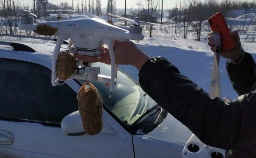 Воронежским заключенным доставляли телефоны при помощи квадрокоптера