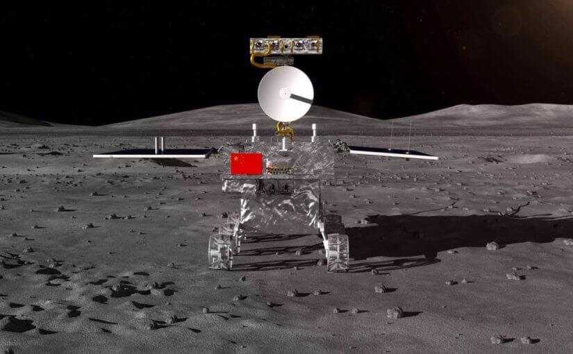 Китайцы первыми в мире посадили аппарат на обратной стороне Луны