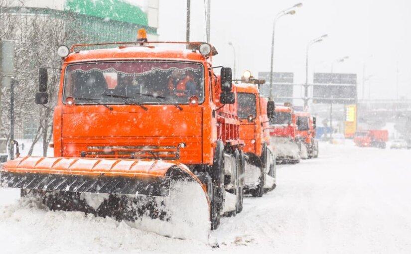 Очистить Москву от снега коммунальщики обещают за неделю