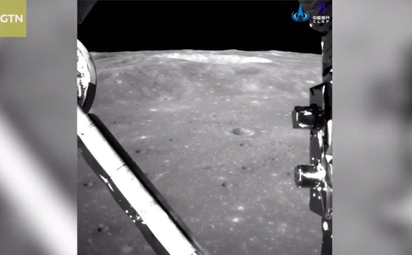 Китай показал, как выглядит обратная сторона Луны: видео