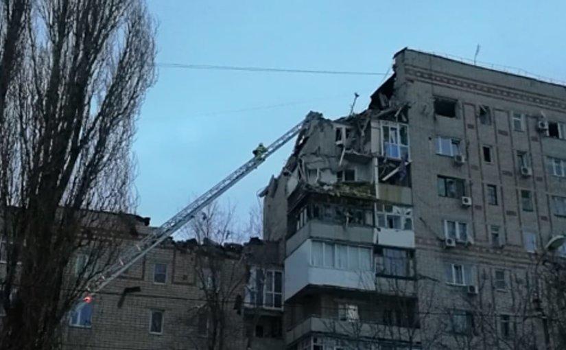 В жилом доме в городе Шахты произошел взрыв газа