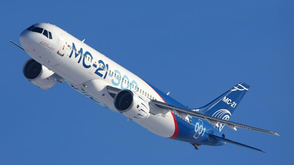 Сборку новейшего российского самолёта показали на видео