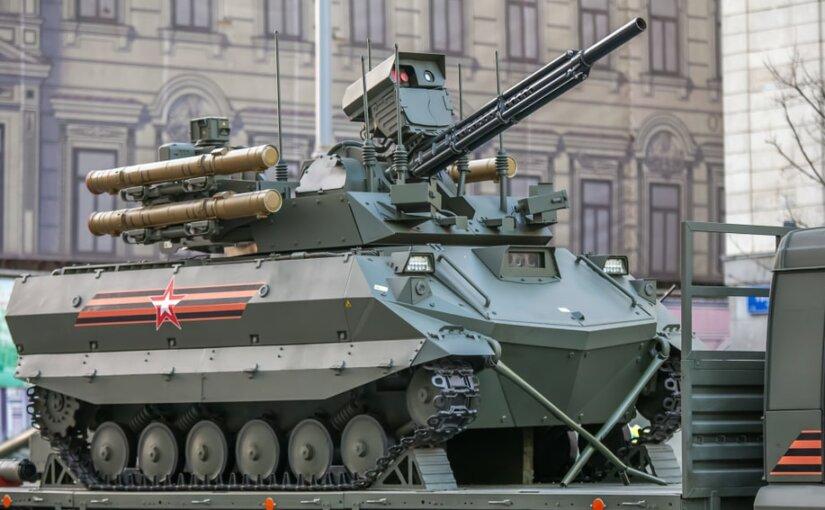 Проверенный в Сирии боевой комплекс поступил в ВС РФ