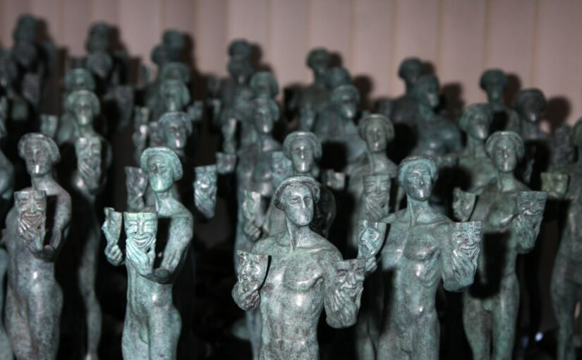 Американская гильдия киноактеров в 25 раз раздала награды