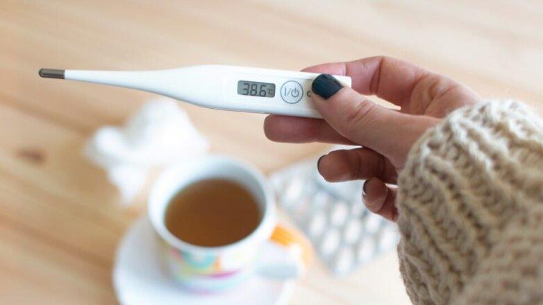 ГРИПП, ОРВИ, болезнь, градусник, температура, лекарства, лечение