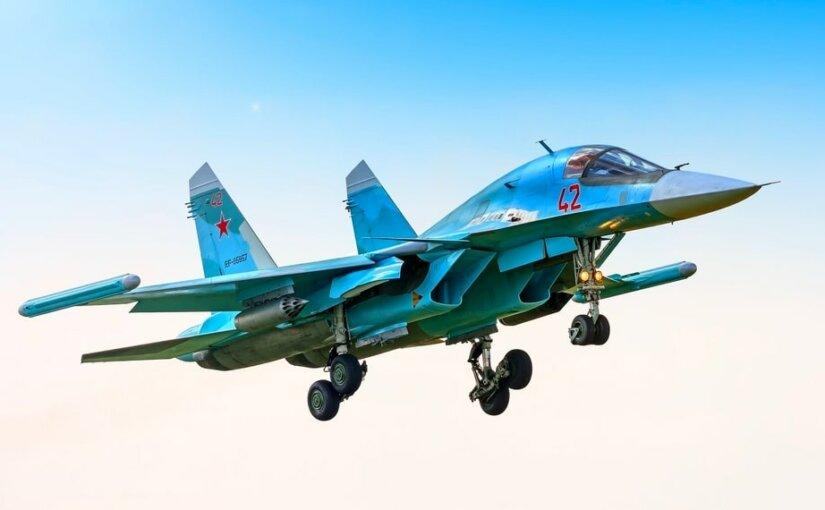 На Дальнем Востоке ищут столкнувшиеся истребители Су-34