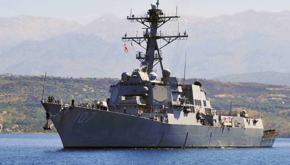 Американский эсминец «Gravely» (USS Gravely), флот, ВМС, армия, США
