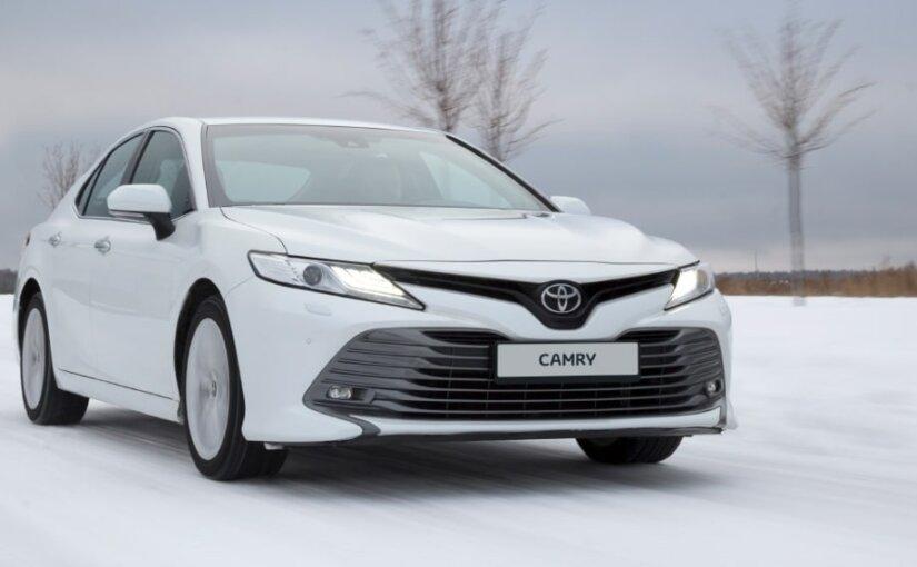 Седан Toyota Camry стал самым продаваемым японским авто в РФ