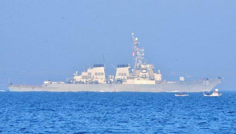 Американский эсминец «Дональд Кук» (USS Donald Cook), флот, ВМС, армия, США