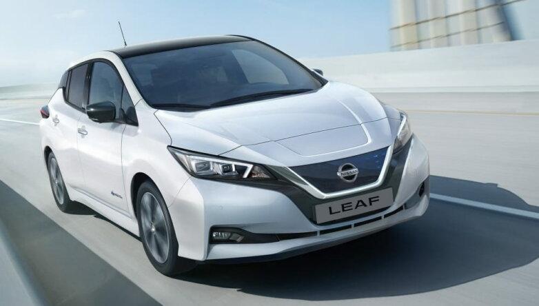 Nissan Leaf, машина, автомобиль