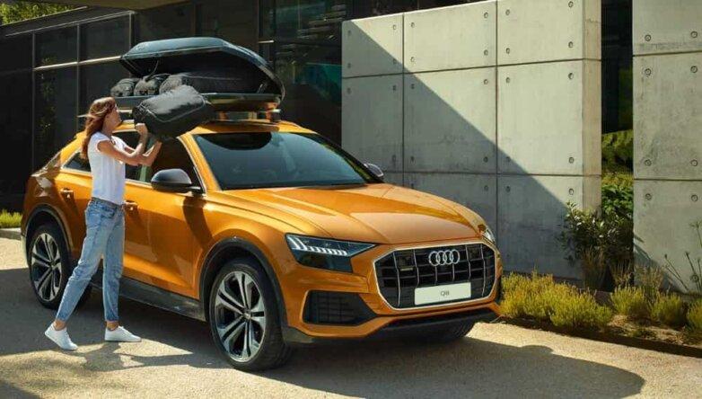 Audi Q8, машина, автомобиль