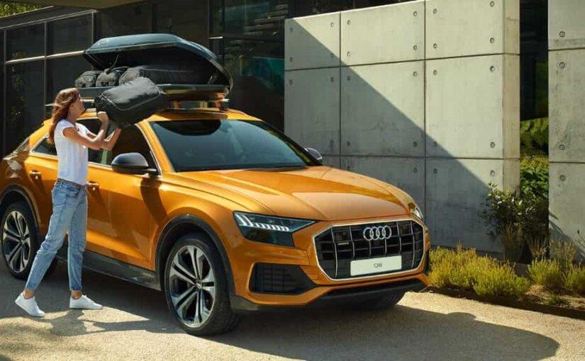 Новый кроссовер Audi Q8 сможет разогнаться до 100 км/ч за 6 секунд