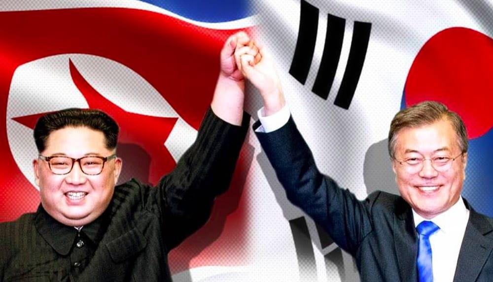 Северная и Южная Корея, Ким Чен Ын и Мун Джэин
